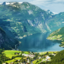 Paisagens naturais do norte europeu